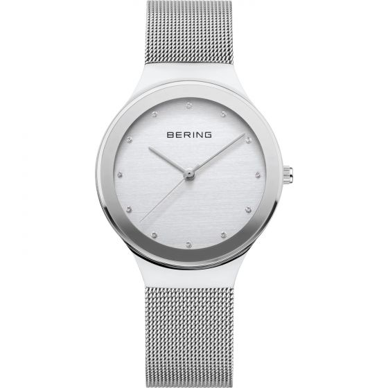 BERING Time Classic Collection Stainless-steel 12934-000 Silver Dial Mens 34-mm