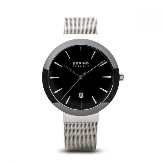 BERING Time High-Tech Ceramic Collection Stainless-Steel 11440-042 Black Dial