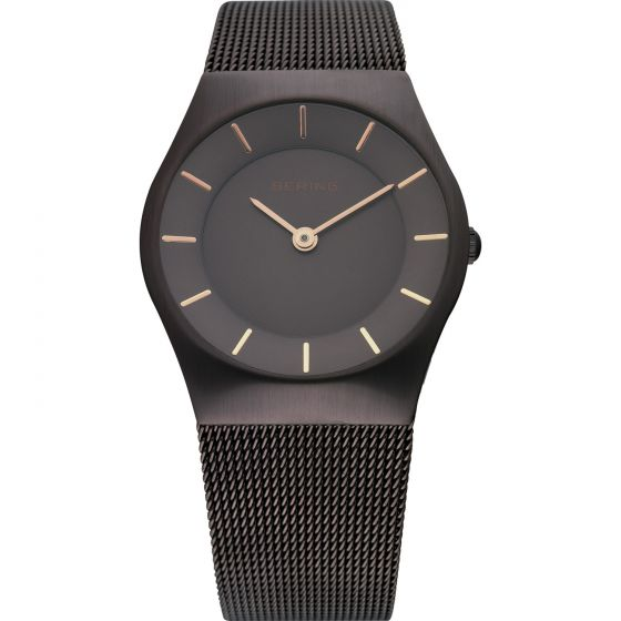 BERING Time 11930-105 Womens Classic Collection Watch with Mesh Band.