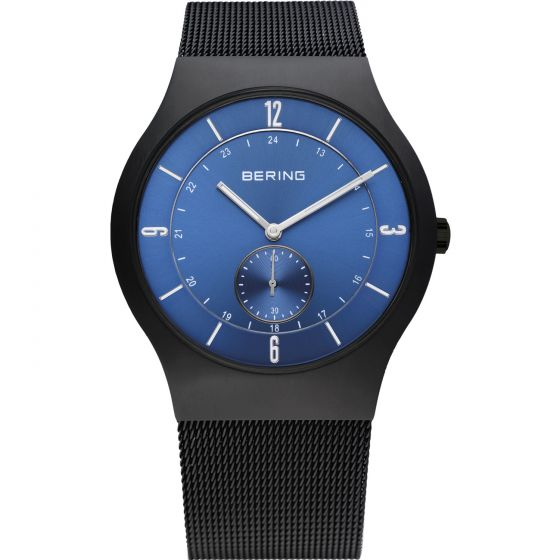 BERING Time 11940-227 Mens Classic Collection Watch with Mesh Band.