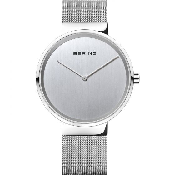 BERING Classic Slim 14539-000 Watch with Scratch Resistant Sapphire Crystal