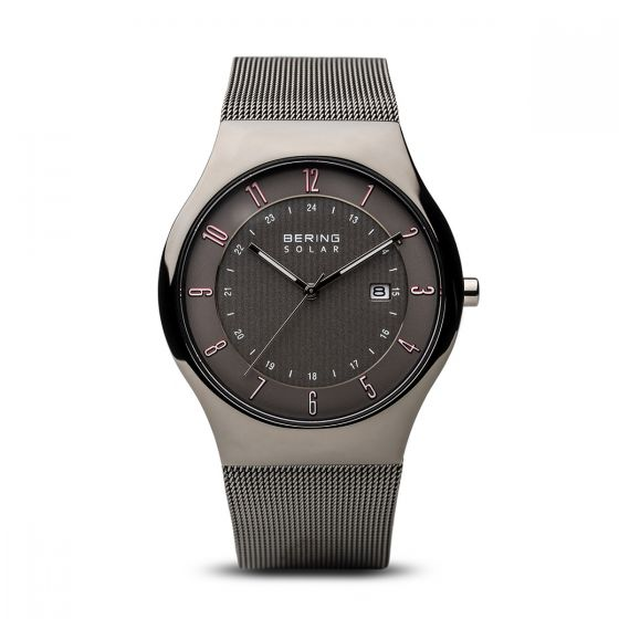 BERING Time 14640-077 Men Solar Collection Watch with Stainless-Steel Strap..