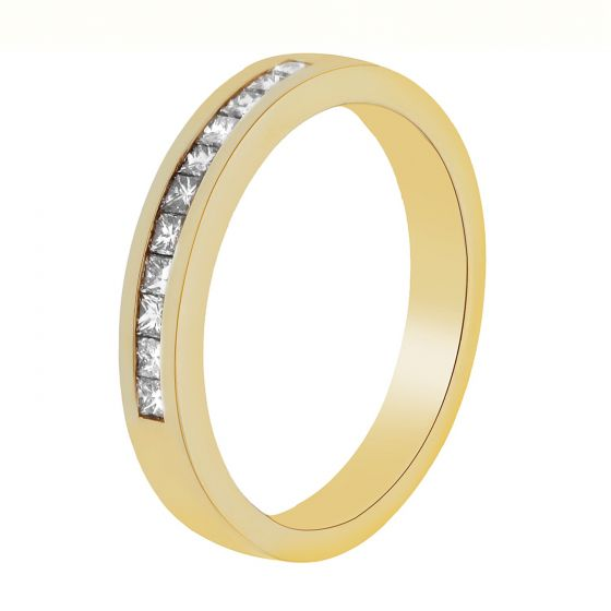 0.33 Ct. T.W. Diamond Band In 18 Karat Yellow Gold