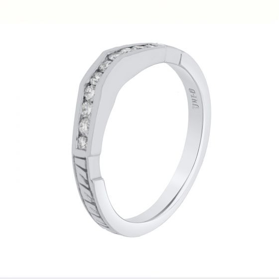 0.25Ct. T.W. Diamond Ring In 14  Karat White Gold