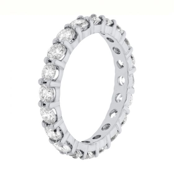 2.00Ct. T.W. Diamond Ring In 18 Karat White Gold