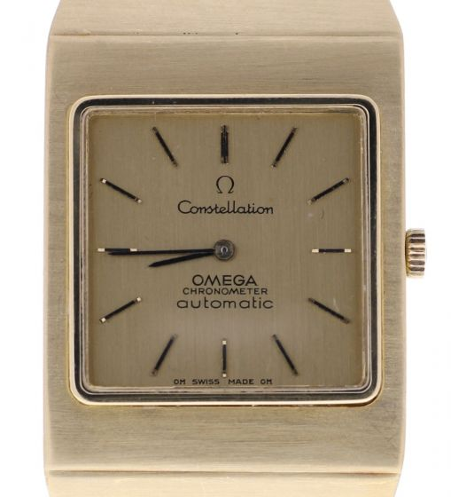 Omega Constellation Steel-and-18k-gold 351.8294 Champagne Dial Mens 31-mm Automa