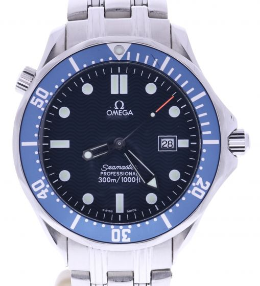 Omega Seamaster Stainless-steel 212.30.41.20.03.001 Blue Dial Mens 41-mm Quartz Sapph