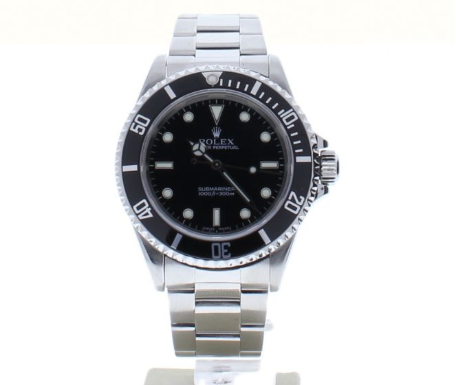 Rolex Submariner Stainless-steel 14060M Black Dial Mens 40-mm Automatic Watch