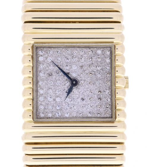 Piaget Vintage Yellow-gold P913 White Dial Womens 26-mm Manual Sapphire crystal.