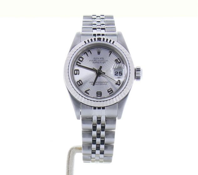 Rolex DateJust 26 Stainless-steel 79174 Silver Dial Womens 26-mm Automatic Watch