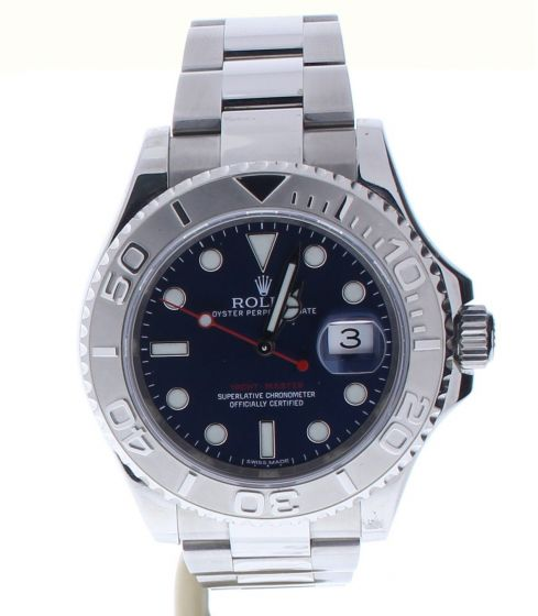 Rolex Yacht-Master Stainless-steel 116622 Blue Dial Mens 40-mm Automatic Watch