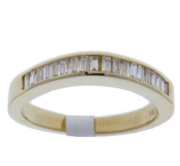 0.60 Ct. T.W. Diamond Band In 18 Karat Yellow Gold