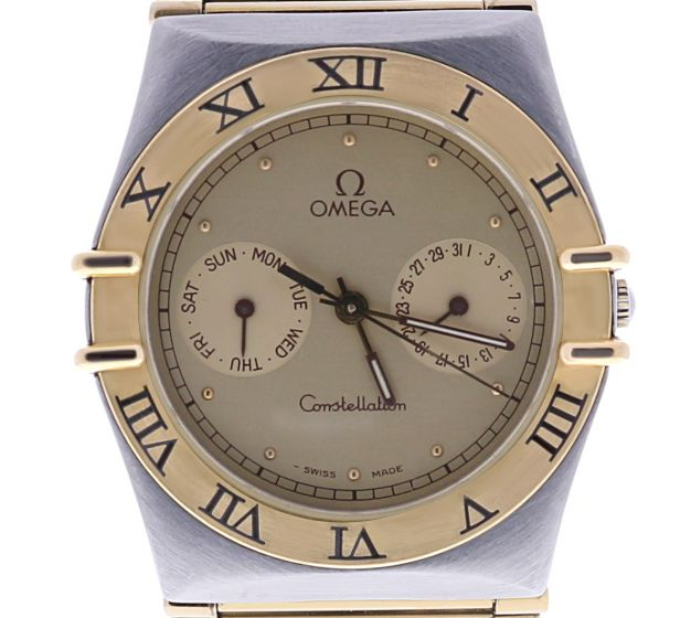 Omega Constellation Stainless-steel 1448/431 Champagne Dial Womens 34-mm Automat