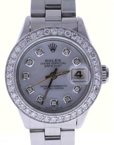 Rolex Lady Date 26 Stainless 6517 Mother-of-Pearl Dial 26-mm Automatic Watch