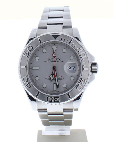 Rolex Yacht-Master Stainless-steel 116622 Grey Dial Mens 40-mm Automatic Watch
