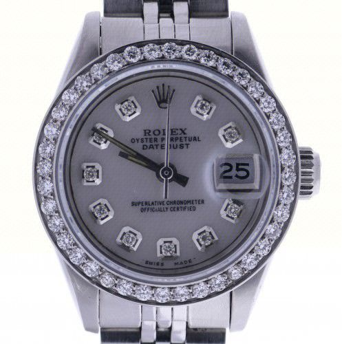 Rolex Lady Date-26 Stainless-steel 69190 Mother-of-Pearl Dial Automatic Watch