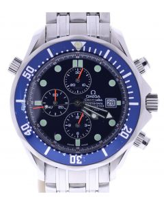 Omega Seamaster Stainless-steel 1503/825 Blue Dial Mens 42-mm Automatic Watch.