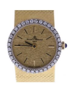 Baume & Mercier Classic Yellow-gold 870834 Champagne Dial Womens 26-mm Automatic