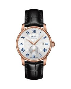 MIDO Men's Automatic Watch Baroncelli M86083214 with Leather Strap