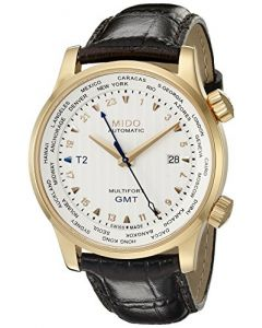 Mido M0059293603100 Multifort Mens Watch - White Dial Stainless Steel Case Automatic Movement