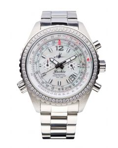 The Abingdon Co Aviation Series Jackie in Mother-of-Pearl Dreamy White Stainless