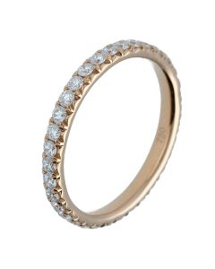0.76ct Round Diamond Full Eternity Bands in 18k Rose Gold-202430