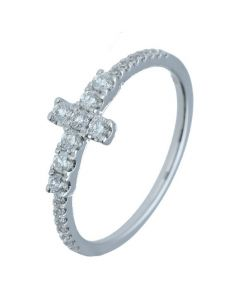 0.32ct  Diamond 18k White Gold Bands - 202412