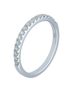 0.26 ct. t.w.t Diamond Full Eternity Band in 18k White Gold.-202372