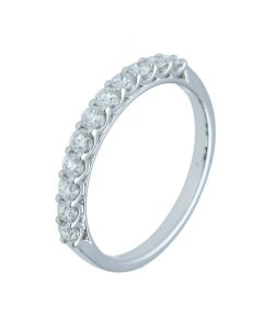0.46 ct. t.w.t Diamond Full Eternity Band in 18k White Gold. - 202379