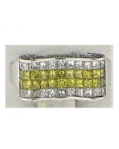 1.39ct Round Diamond 14k WG Rings - 187716