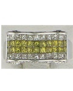 2.28ct Princess Diamond 14k WG Rings - 187691