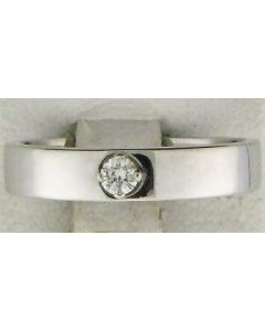 0.14ct Round Diamond 18k WG Bands - 187624