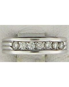 0.35ct Round Diamond 14k WG Bands - 187627