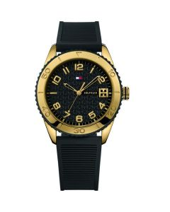 Tommy Hilfiger Ritz Stainless-steel 1781120 Black Dial Womens 38-mm Quartz Mineral crystal.  Wrist Watch