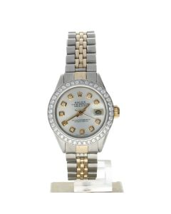 Rolex Datejust 26 Stainless-steel 6917 Silver Dial Women's 26-mm Automatic Watch
