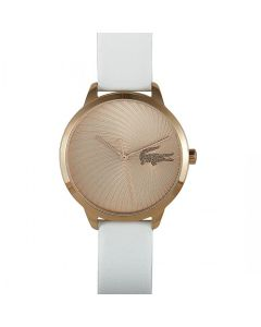 Lacoste Lexi Rose Gold-tone Stainless Steel 2001068 Rose Gold Dial Womens 38-mm Quartz Mineral crystal.  Wrist Watch