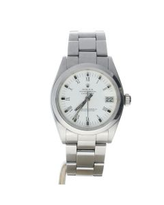 Rolex DateJust 31 steel 6824 White Dial Women's 31-mm Automatic-self-wind Sapphire crystal. Swiss Made Wrist Watch