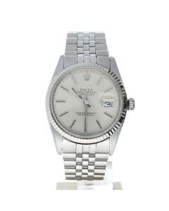 Rolex Datejust 36 Stainless-steel 16014 Silver Dial Men's 36-mm Automatic-self-wind Sapphire crystal Wrist Watch