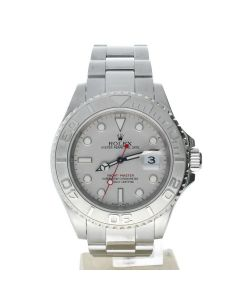 Rolex Yacht-Master Stainless-steel 16622 Silver Dial Men's 40-mm Automatic Sapphire crystal. Swiss Made Watch