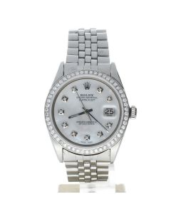 Rolex Datejust 36 Stainless-steel 1603 MoP Dial Men's 36-mm Automatic-self-wind Sapphire crystal Wrist Watch