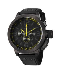 TW Steel Canteen Stainless-steel TW901 Black Dial Mens 50-mm Quartz Mineral crystal.  Wrist Watch