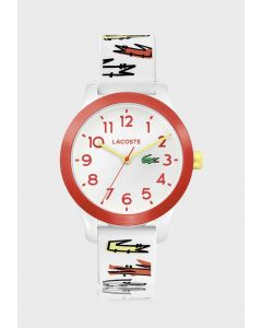 Lacoste Lacoste 12.12 Plastic 2030018 White Dial Womens 32-mm Quartz Mineral crystal.  Wrist Watch