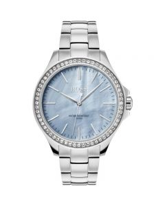 Hugo Boss Classic Stainless-steel 1502457 Mother-of-Pearl Dial Womens 36-mm Quartz Mineral crystal.  Wrist Watch