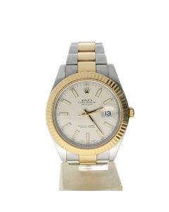 Rolex Datejust II Stainless-steel 116333 White Dial Men's 41-mm Automatic-self-wind Sapphire crystal. Swiss Made Wrist Watch
