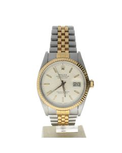 Rolex Datejust 36 Stainless-steel 16013 White Dial Men's Automatic-self-wind Sapphire crystal. Swiss Made Wrist Watch