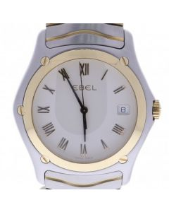 Ebel Classic Wave Steel-and-18k-gold E1187F41 White Dial Mens 38-mm Quartz Sapp