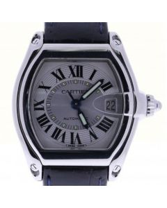 Cartier Roadster Stainless-steel 2510 Silver Dial Mens 38-mm Automatic self-wind