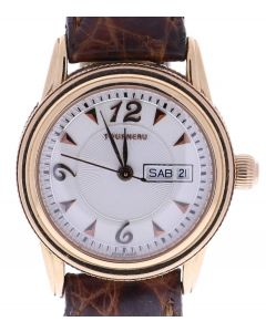 Tourneau Unknown Rose Gold-tone Stainless Steel 823103 Beige Dial Womens 26-mm Q