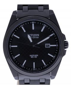 Citizen Eco Drive Stainless-steel E111S087317 Black Dial Mens 42-mm Automatic se