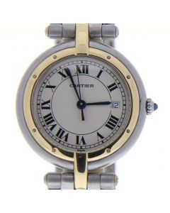 Cartier Panthere Steel-and-18k-gold 13749 White Dial Womens 31-mm Quartz Sapphire